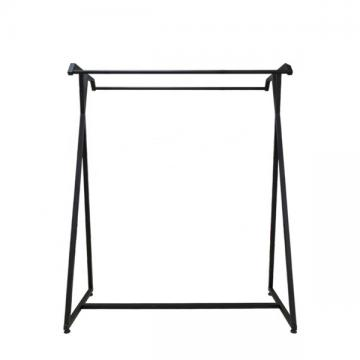 Wood Flooring Stand Garment Display Stands For Retail Shop 120x60x132cm