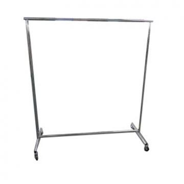 Shop Furniture Garment Display Stand With Adjustable Wheel And Display Boards