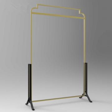 Customzied retail compositive garment small retail shop design with garment display stand