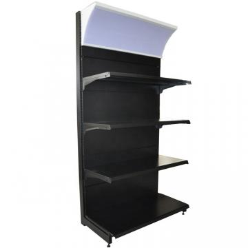 Custom Double Sided Grocery Display Stand Racks Retail Store Shelving Supermarket Shelf