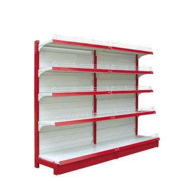 Supermarket and grocery display shelves natural design baby shop display stands with led advertising