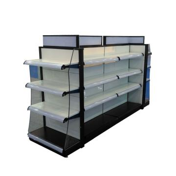 Display Stand with LED Light Box, Lotion Shelf, Cosmetic Showroom, Makeup Cabinet