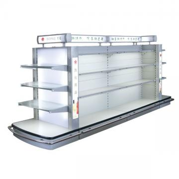 Cosmetic Supermarket Shelf Retail Display Lotion Glass Shelf Series