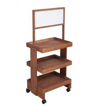 New Style Wooden Display Shelves , Wooden Retail Displays For Baby Products