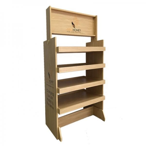New Customized Supermarket Wooden Retail Display Shelving #1 image